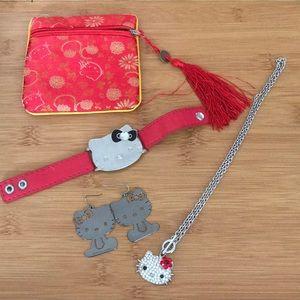 Jewelry - Hello kitty jewelry bundle
